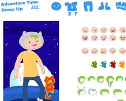 Adventure Time Character Creator