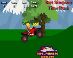 Bart Simpson Time Rush
