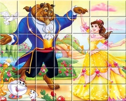 Beauty And The Beast Spin Puzzle