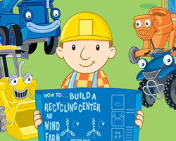 Bob the Builder Recycling Center