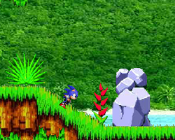 Sonic The Hedegehog Angel Island