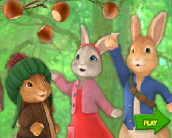 Peter Rabbit Nutkins Nut Catch