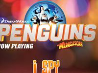 The Penguins of Madagascar I Spy