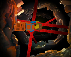 The Lego Movie Sinkhole
