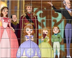 Sofia The First Spin Puzzle