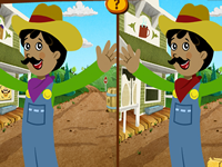 The Chica Show Spot the Differences