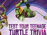 Test Your Teenage Turtle Trivia