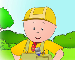Building with Caillou