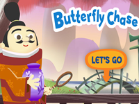 Justin Time Butterfly Chase
