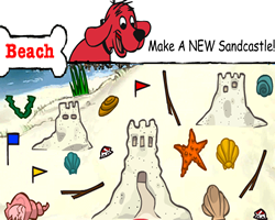 Clifford Builds a Sand Castle