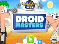 Phineas and Ferb Star Wars Droid Masters