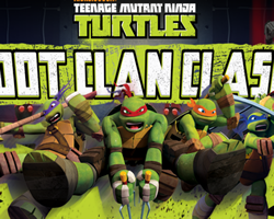 Teenage Mutant Ninja Turtles Foot Clan Clash