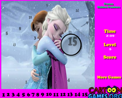 Frozen Hidden Numbers