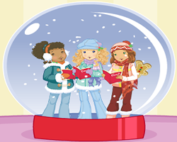 Holly Hobbie Create a Snow Globe
