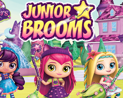 Little Charmers Junior Brooms