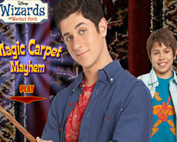 Wizards Of Waverly Place Magic Carpet Mayhem