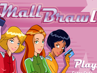 Totally Spies Mall Brawl
