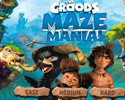 The Croods Maze Mania