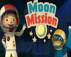 Zack and Quack Moon Mission