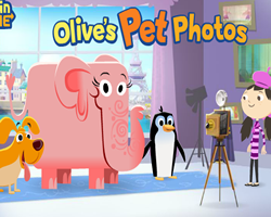 Olive Photos with Animals