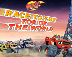 Blaze Race to the Top of the World
