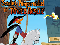 Scarlet Pumpernickel in Tower Rescue