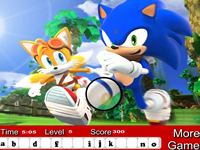 Sonic the Hedgehog Hidden Letters