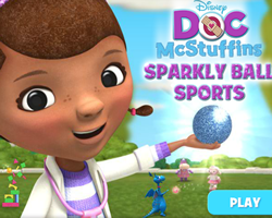 Doc McStuffin Sparkling Ball Sports