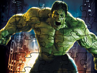 The Hulk Incredible Puzzle