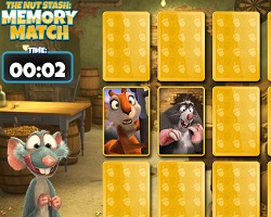 The Nut Stash Memory Match