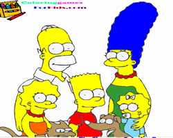 The Simpsons Coloring
