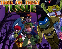 Trick or Treat Tussle